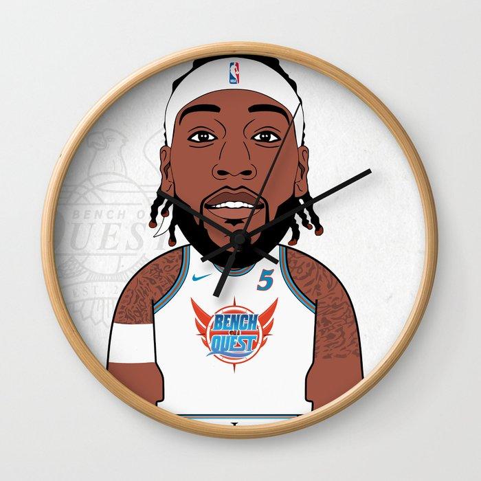 Trezz B*O*A*Q Wall Clock