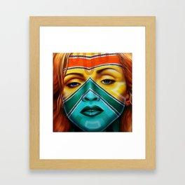 Esther, Inspired by Madonna Framed Art Print