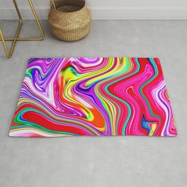 Marble Marbled Abstract Trendy CLVII Rug