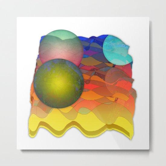 Sea Symphony Opus 101 Metal Print