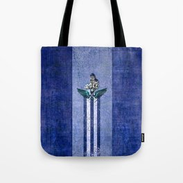 poloplayer blue Tote Bag
