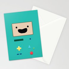 Pixel BMO Stationery Cards
