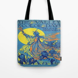 The Valley of Color Days Book Tote Bag