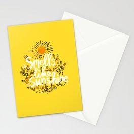 Smells Like Sunshine Stationery Cards