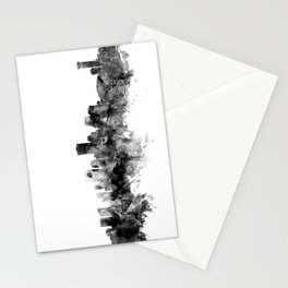 New Orleans Louisiana Skyline Stationery Cards