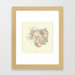 Arbor Ludi: Tal Framed Art Print