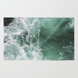 Turbulent Waters Rug
