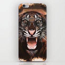 Surprised Tiger iPhone Skin