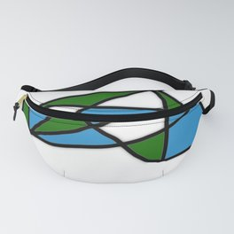 Blue Green Life Fanny Pack