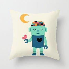 Robot Dreams Throw Pillow