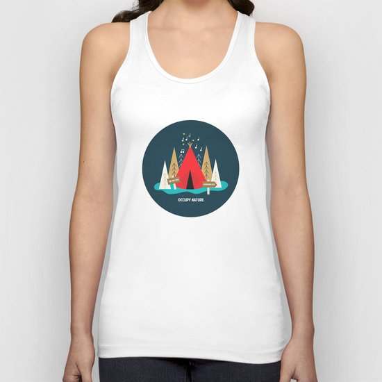 We are the 100%  Unisex Tank Top