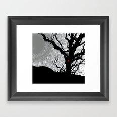 treesome Framed Art Print