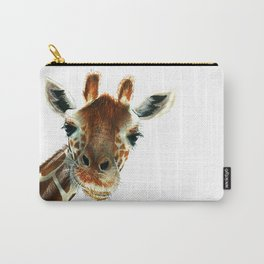 Cute Giraffe Carry-All Pouch