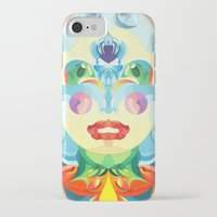i woke up like this iPhone & iPod Cases featuring I Woke up like This by Anai Greog