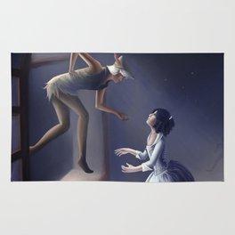 Peter Pan & Wendy Rug