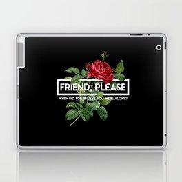 friend please Laptop & iPad Skin
