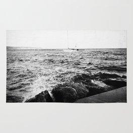Lake Michigan Harbor Rug