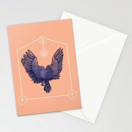 Hugin & Munin Stationery Cards