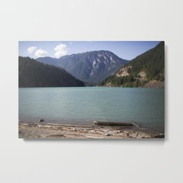 Washington Ross Lake  Metal Print