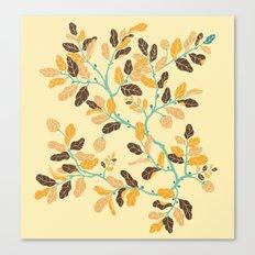 Crisp Autumn Branches Canvas Print