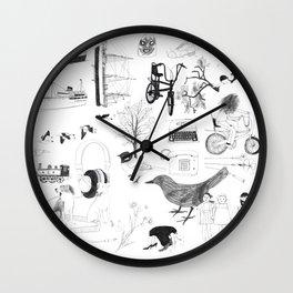 Dreams and bits and bobs Wall Clock