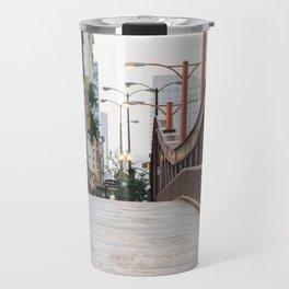 Chicago River Walk Travel Mug