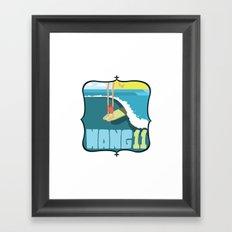 Hang 11 Framed Art Print
