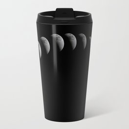 Full Solar Eclipse (Moon Pattern) Travel Mug