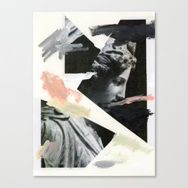 Untitled (Painted Composition 3) Canvas Print