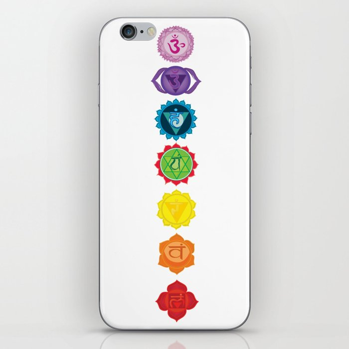 Seven Chakras iPhone Skin