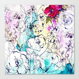 Spring Haze Canvas Print