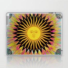 Psychedelic Sun Star Laptop & iPad Skin