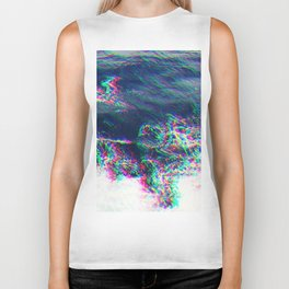 Oceanic Glitches - Pale Waves Biker Tank