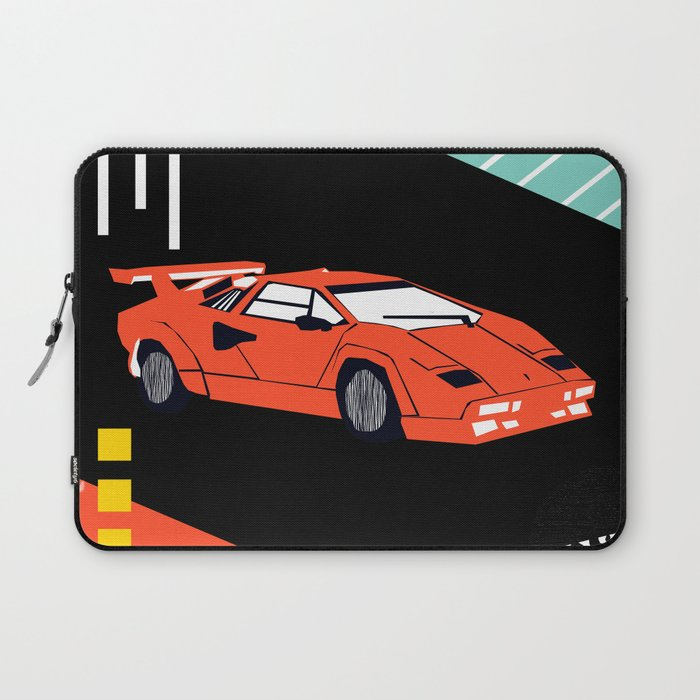 Wicked - sports car 80s retro throwback memphis style motorhead ...