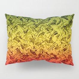 Rasta Fire Pillow Sham