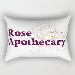 Rose Apothecary Rectangular Pillow