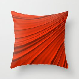 Renaissance Red Throw Pillow