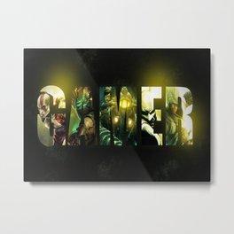 Bioshock infinite Metal Print