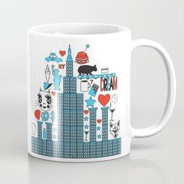 FASHIONISTA CAT NY Coffee Mug