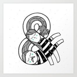 You and Me Art Print