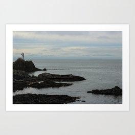 Roger Curtis Lighthouse Art Print