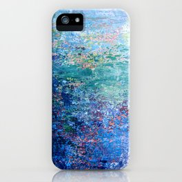 Blue Noise iPhone Case