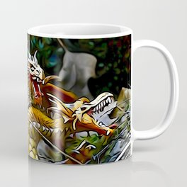 Golden Dragons Nest Coffee Mug