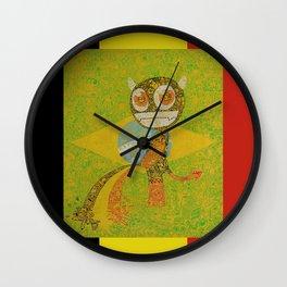 brazil belgium worldcup devil manneken pis Wall Clock