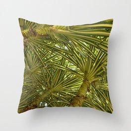 Pandanus Sanderi Throw Pillow