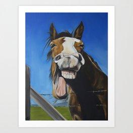 Crazy Horse #2 Art Print