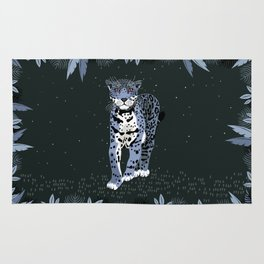 Midnight Jaguar Rug