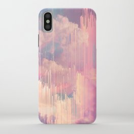 Candy Glitched Sky iPhone Case
