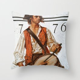 Militiaman - Digital Remastered Edition Throw Pillow