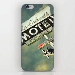 La Crescenta Vintage Motel Sign iPhone Skin